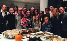 Как звезды отметили День благодарения – 2015: фотоотчет