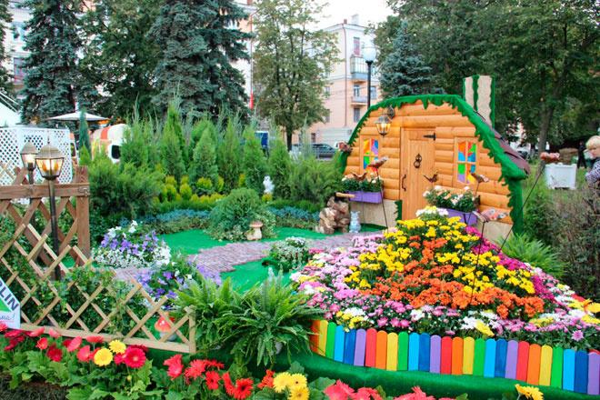 Выставка Воронеж Город-сад