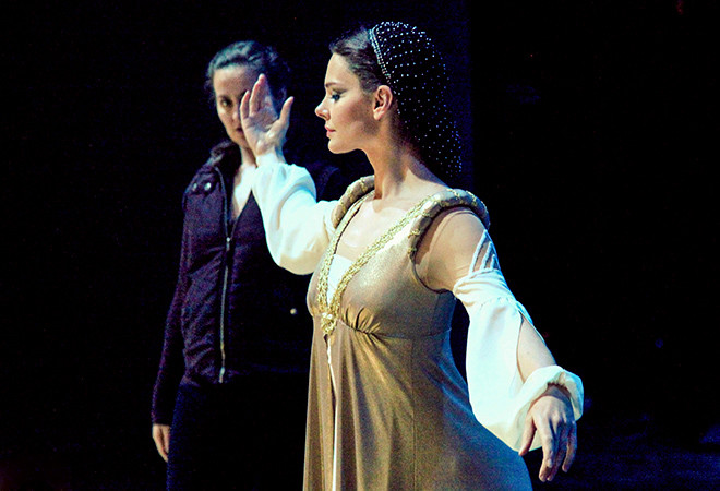 Елизавета Боярская, Ромео и Джульеттой холодной войны