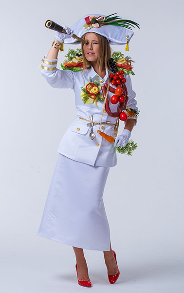 """Ксения Собчак, ведущая программы """"Битва ресторанов"""""""