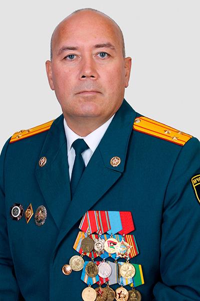 Игорь Постнов, пожарный, фото