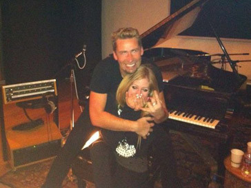 Аврил Лавин (Avril Lavigne) и Чед Крюгер (Chad Kroeger)