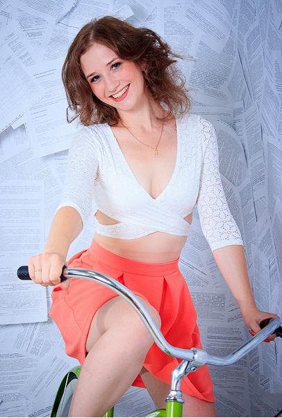 Елена Коростелева, участница «Мисс велогород-2016», фото