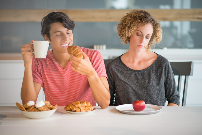 Причина хронической усталости - неправильное питание
