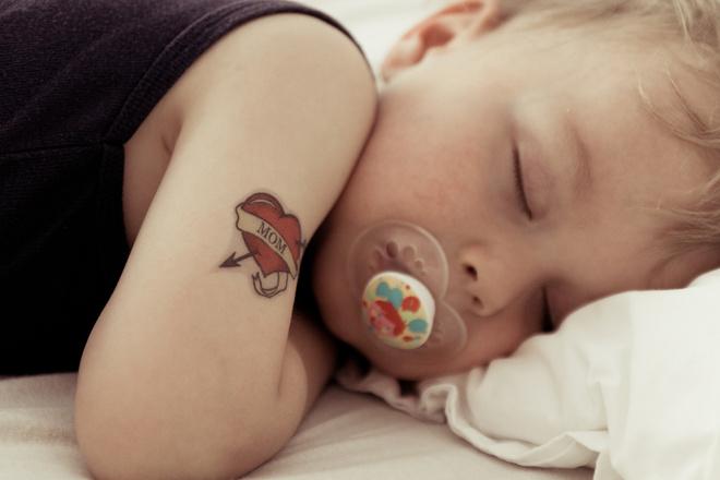 Татуировки у детей