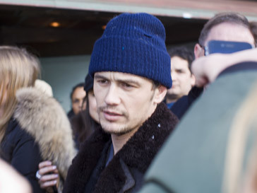 Джеймс Франко (James Franco) на фестивале «Сандэнс»