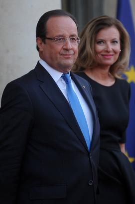 Франсуа Олланд, Валери Триервейлер
