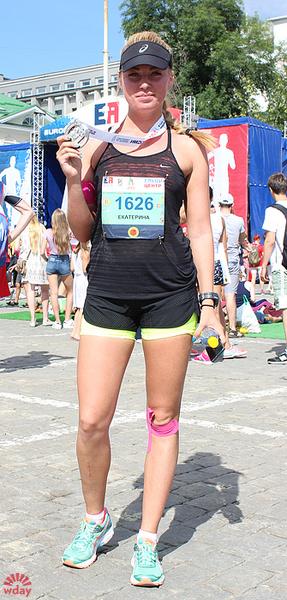 """Екатерина Гордеева, марафон """"Европа-Азия 2016"""", фото"""
