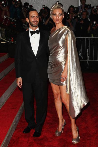 Марк Джейкобс и Кейт Мосс в Marc Jacobs