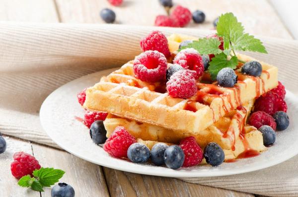Рецепт бельгийских вафель
