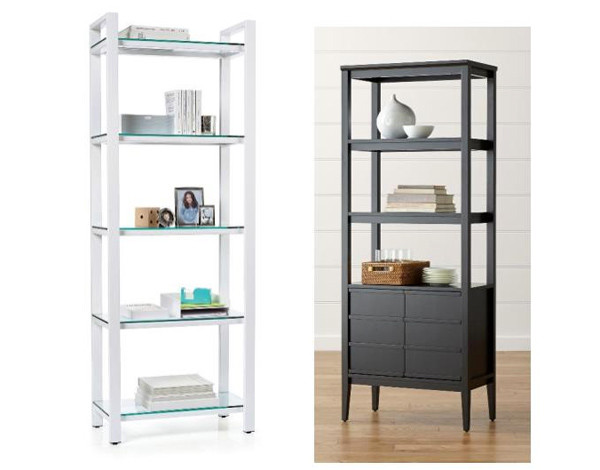 Pilsen Bookcase; Spotlight Bookcase