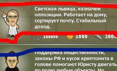 Ксения Собчак стала героиней игры для мобильных телефонов