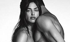 Ирина Шейк снялась топлес в рекламе джинсов