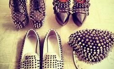 Шипы и кожа: Виктория Боня предпочитает стиль садомазо