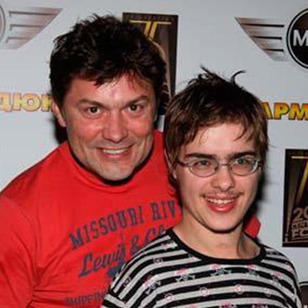 Сергей Белоголовцев с сыном