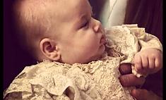 Принц Джордж официально принял крещение