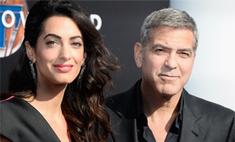 Паста с фрикадельками: Клуни поздравил жену с годовщиной свадьбы