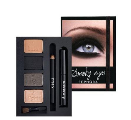 набор для макияжа Smoky Eyes от Sephora
