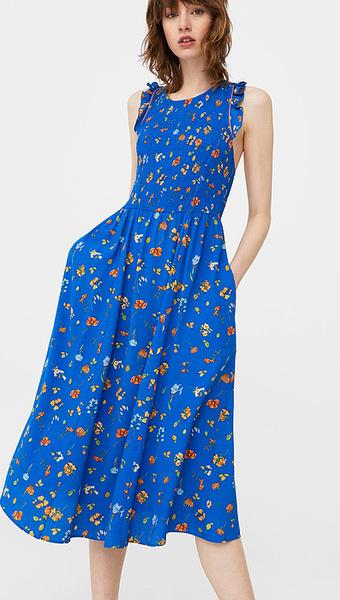 Платье с кокеткой Mango, фото