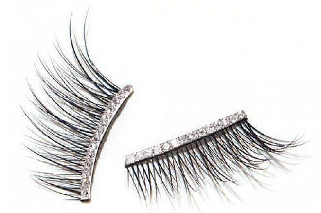 Kre At Beauty Gold and Diamond Eyelashes, 1350 долларов