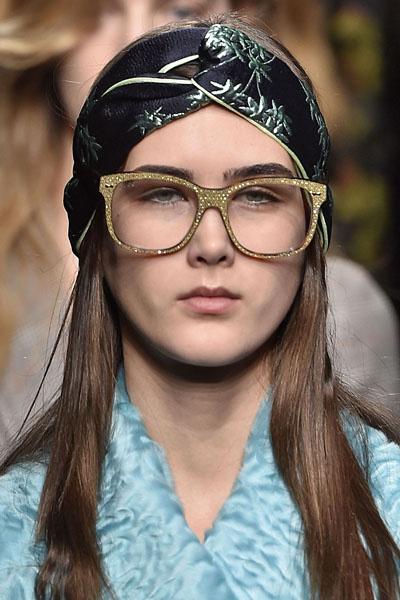 как повторить макияж с показа Gucci, осень-зима 2016