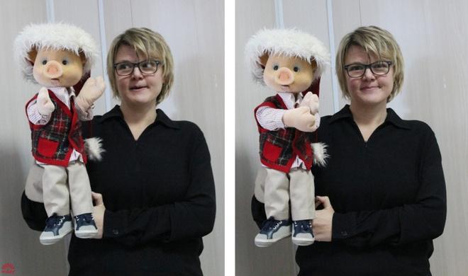 Хрюша и его «мама» Оксана Чабанюк