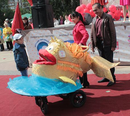 парад колясок 2014 Тюмень итоги День города