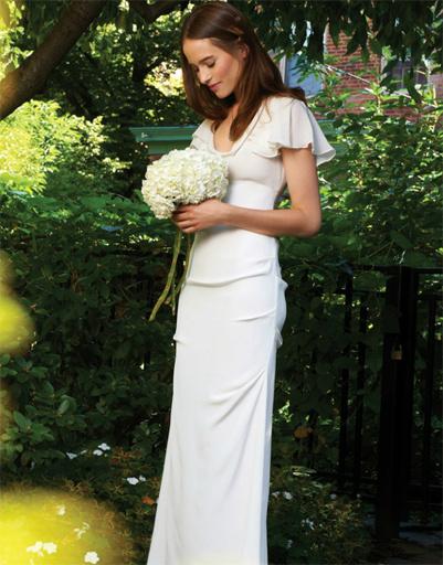 Свадебное платье Nicole Miller, коллекция весна-лето 2012