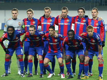 Футболисты ЦСКА разгромили «Палермо» со счетом 3:0
