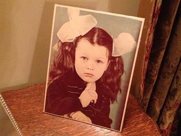 Мила Йовович в детстве
