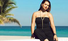 Пышнотелая модель Тара Линн рекламирует купальники H&M