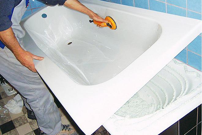 Акриловые вставки в ванну: отзывы о качестве и преимуществах