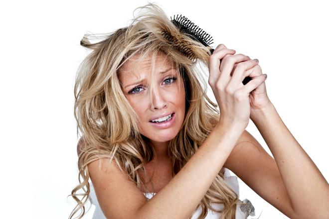 Колтуны на волосах
