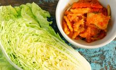 Салат из крабовых палочек и китайской капусты: правильный рецепт