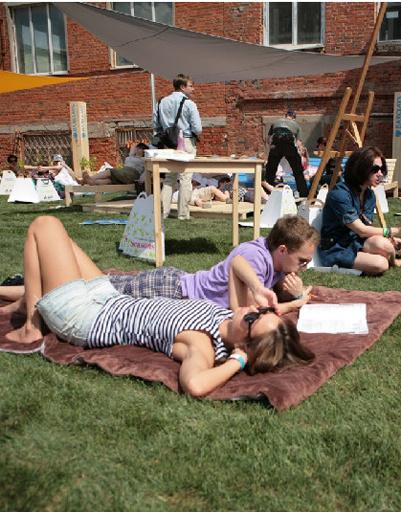 Детские фестивали позволят родителям немного расслабиться.