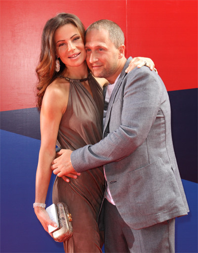 Оскар Кучера с женой Юлией.