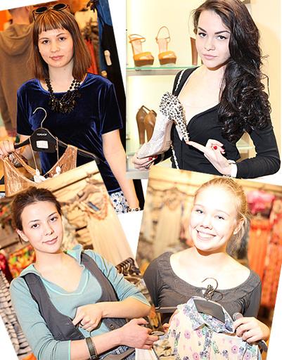 WDay.ru спросил у посетительниц самых модных магазинов об актуальных трендах весна-лето 2012
