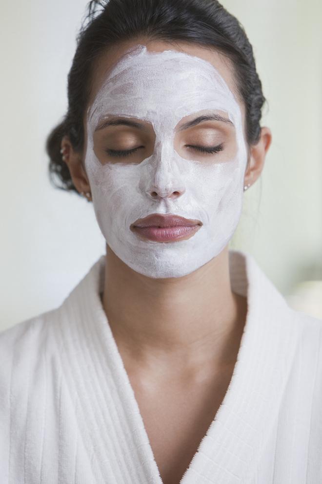 маска для лица из натурального йогурта