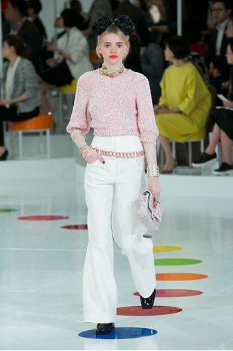 Показ круизной коллекции Chanel в Сеуле | галерея [1] фото [10]