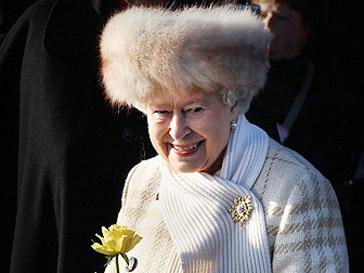 Елизавета II в рождественское утро