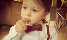 Виктория Боня одевает дочку как мальчика