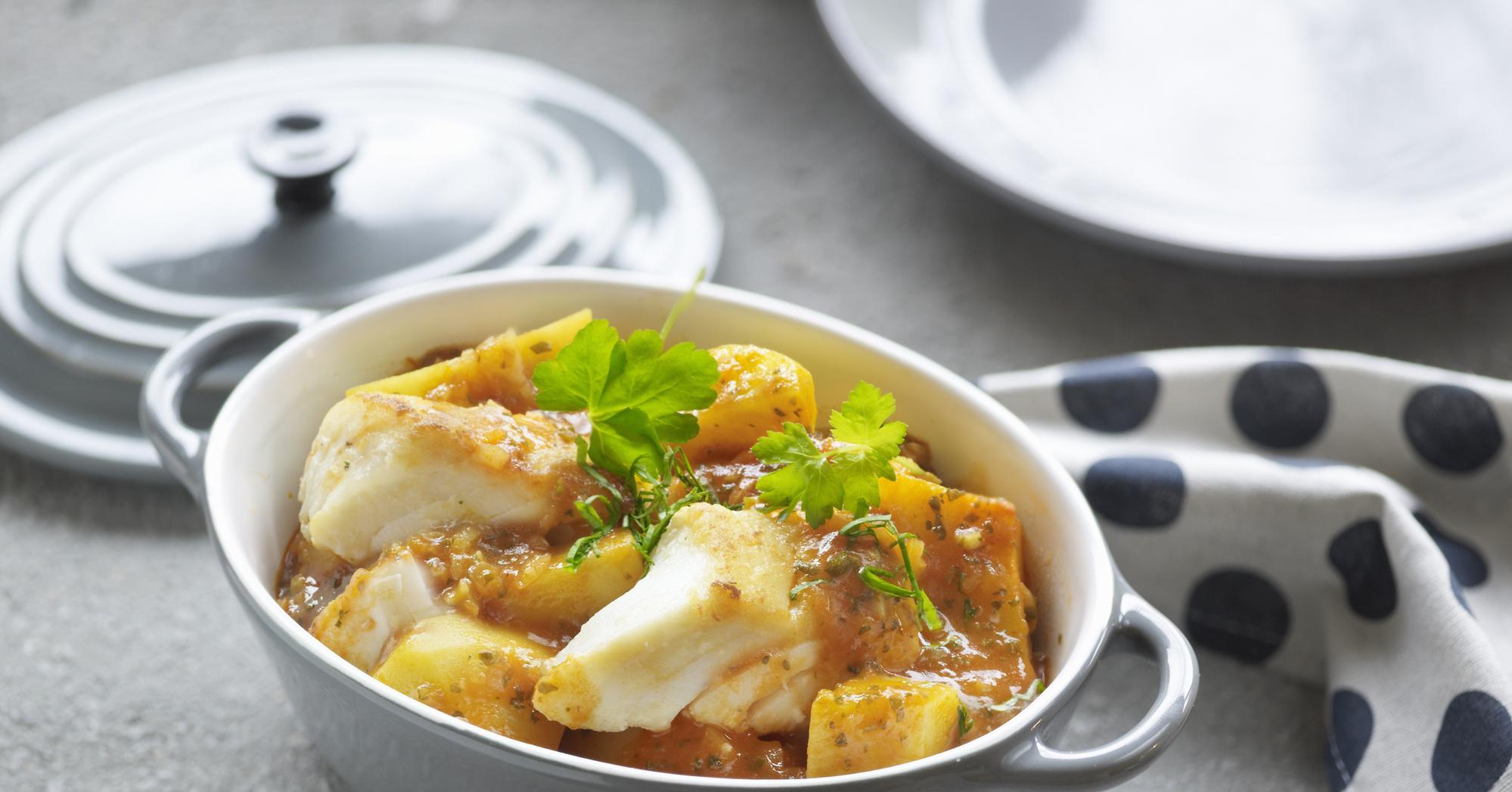Блюдо из трески пошаговый рецепт