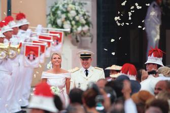 1 июля 2011 года: свадьба принца Монако Альбера II и Шарлин Уиттсток.