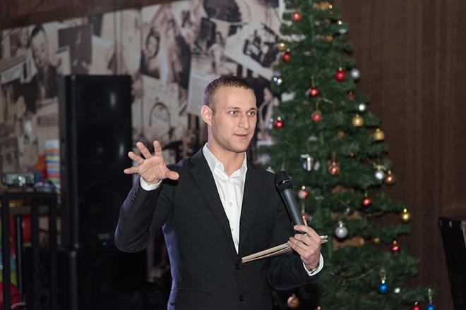 Ведущий на новогодний корпоратив в Ростове
