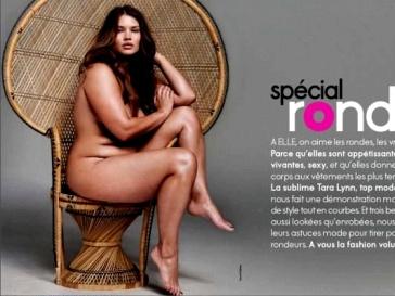 Тара Линн на обложке журнала ELLE