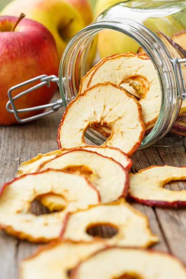рецепт яблочные Как делать чипсы