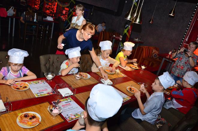 Новокузнецк, ресторан «Тарантино», мастер-класс для детей