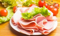 Универсальный салат с ветчиной и помидорами