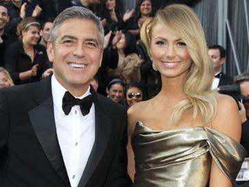 Стейси Киблер (Stacy Keibler) горячо болела за Джорджа Клуни (George Clooney) и за президента Бараку Обаму (Barack Obama)