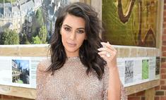 Ким Кардашьян оголила грудь для фотосессии